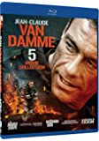 Jean Claude Van Damme 5 Movie Collection (Hard Corps / Double Team / Maximum Risk / Universal Soldier Return / Second In Command) [Blu-ray]