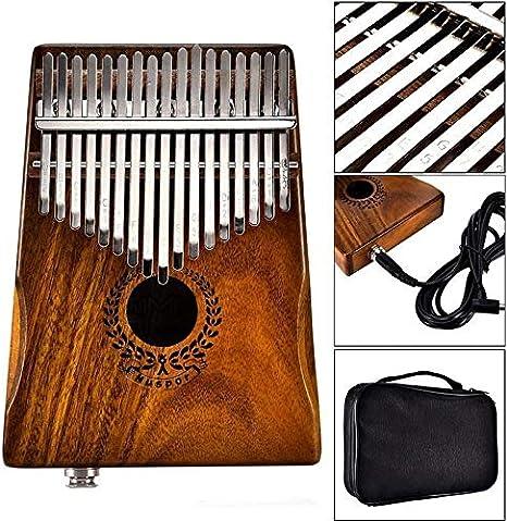 Elektrische Kalimba Daumenklavier 17 Schlüssel Musikinstrument Spielzeug