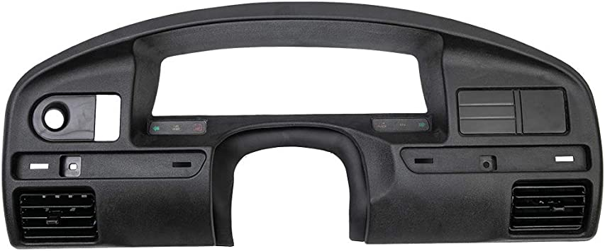 Gas Engine Only For Ford F150 F250 F350 Super Duty 1994 1995 1996 1997 Black Instrument Cluster Dashboard Panel Bezel