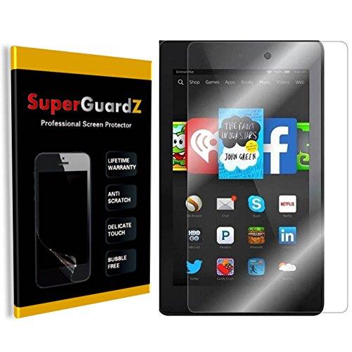 [3-PACK] Amazon Kindle Fire HD 6 (4th Gen, 2014) - SuperGuardZ® Screen Protector, Ultra Clear, Anti-Scratch, Anti-Bubble [Lifetime Warranty] (Fire Hd6 Warranty)