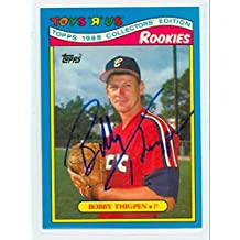 Bobby Thigpen AUTOGRAPH Toys R Us Rookies Chicago White Sox