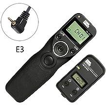 pixel TW-283/E3 LCD Wireless Shutter Release Timer Remote Control for Canon EOS 1300D, 1200D,1100D,1000D,760D,750D,700D,650D