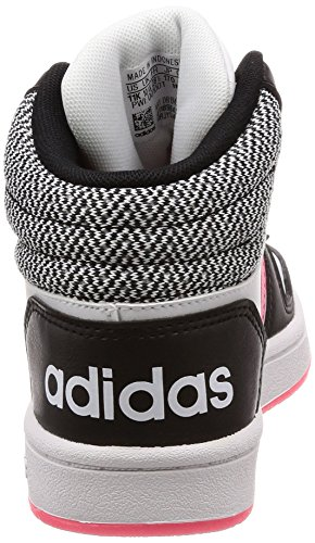 Rosrea 000 Mid 0 Kinder Unisex Hoops Schwarz 2 adidas Negbas Ftwbla Fitnessschuhe OfqzZxnw