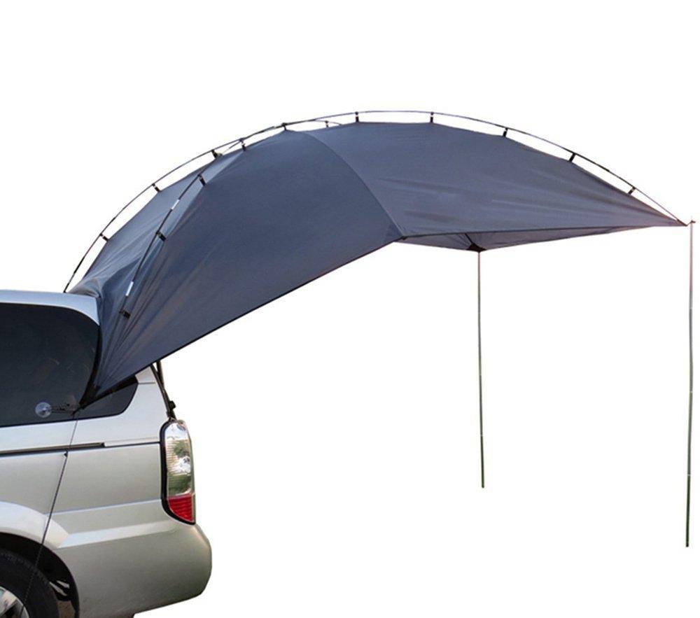 Zisen 車オーニングテント 折りたたみ式 広いスペース 日除け 家庭 テント 携帯便利 い車のルーフテントサンシェードオーニングテント [3~5人用] B074Z2WBV9