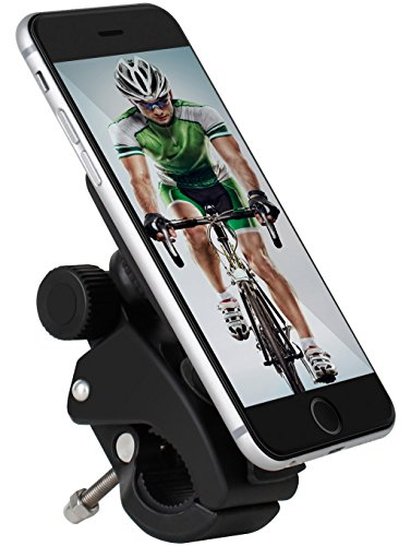 Yongcheng Bike Phone Mount, 24 Month Warranty, Universal Magnetic Cell Phone Bicycle Handlebar & Motorcycle Holder for iPhone 7 plus 6s 6 5s 5c 5,Samsung Galaxy S7 S6 S5 S4 Note 4 5 LG And all Phone