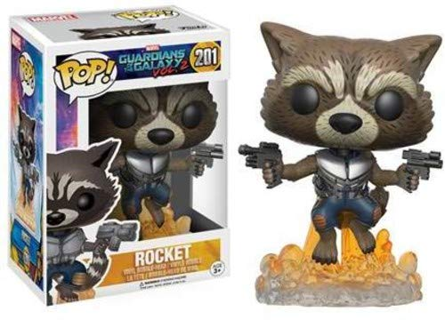 Funko POP Movies: Guardians of the Galaxy 2 Flying Rocket Toy Figure -
