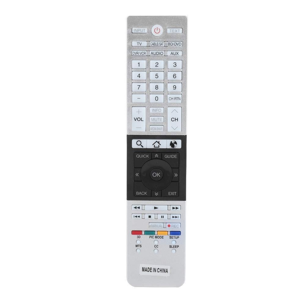 Original TV-Fernbedienung 4K Ultra HD Smart TV-Fernbedienung f/ür Toshiba CT-90430 CT-90429 CT-90427 CT-90428 CT-90444 Bewinner Ersatzfernbedienung f/ür Toshiba TV