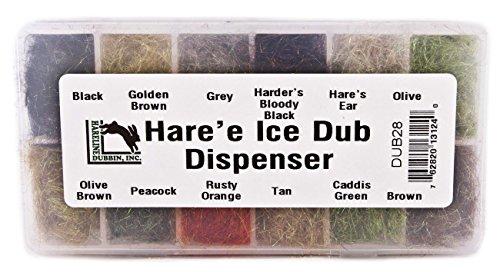 Hareline Fly Tying Haree Ice Dub Dubbing Dispenser