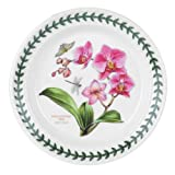 Portmeirion Exotic Botanic Garden Bread and Butter Plate, Set with 6 Assorted Motifs