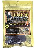 Pop's Famous Gourmet Beef Jerky - Premium Beef (3 Oz Bag) (Orange Teriyaki)
