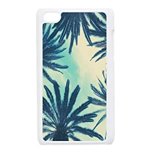 Customized Palm Tree Sand Ipod Touch 4 Case, Palm Tree Sand DIY Case for iPod Touch4 at Lzzcase