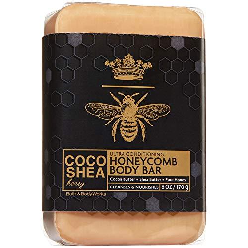 Bath & Body Works 6 Ounce CocoShea Honey Honeycomb Body Bar Soap -