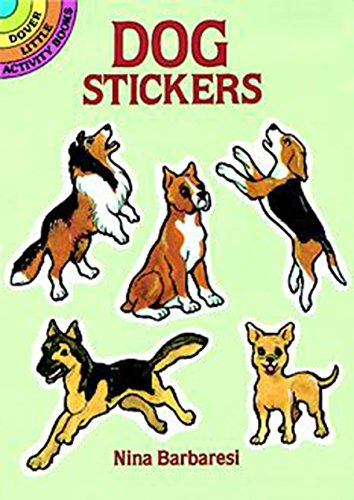 Dog Stickers (Dover Little Activity Books Stickers) -