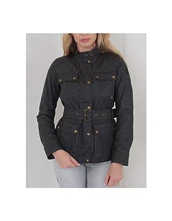 Großhändler 591fe 2e423 Belstaff Damen Jacke Roadmaster 2.0 Jacket Woman Schwarz ...