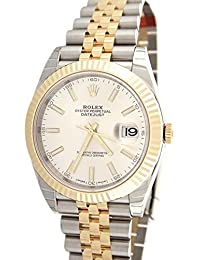 Datejust Ii 41mm White Dial Yellow Gold and Steel Men's Watch 126333