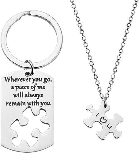 New Women/'s Stainless steel Imprint Bracelet Necklace Pendant Earrings Set Bear