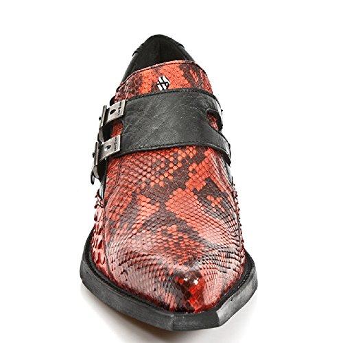 Dollas M Herren Rock New Mehrfarbig S5 7934PT Leder Stiefel Mehrfarbig qZwEEU1