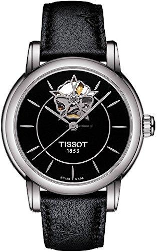 Reloj mujer-reloj analógico de pulsera automático de cuero T050, 207.17.051.04