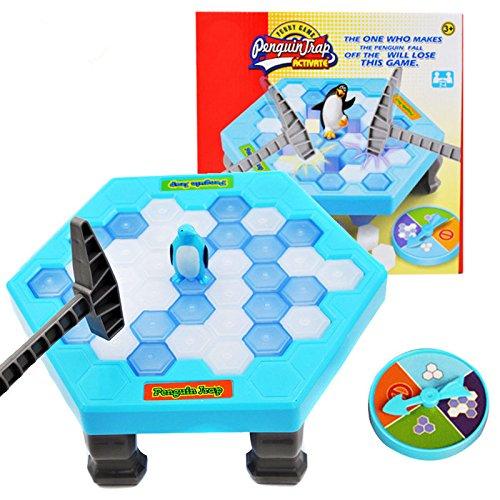 ペンギントラップアクティブ面白いゲームInteractive Ice BreakingテーブルペンギントラップEntertainment Toy for Kids Family Fun Game
