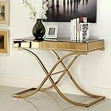 247SHOPATHOME Idf-4230S, sofa table, Bronze
