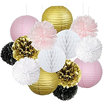 Amazon Com French Parisian Birthday Party Ideas Pink Gold White