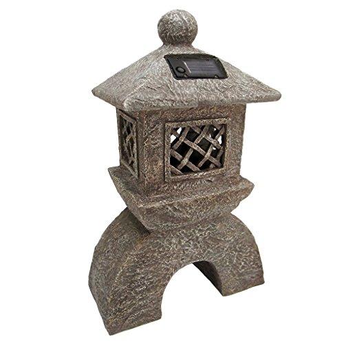 Design Toscano Illuminated Pagoda Lantern Statue (Outdoor Pagoda Designs)