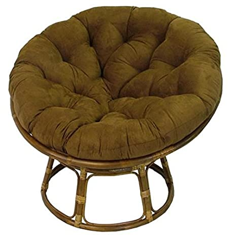 International Caravan 3312 MS CH IC Furniture Piece Rattan 42 Inch Papasan