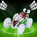 Ranoff Remote Control 360 Stunt LED Lighting Car Toy for Boy Girl Kid (Multicolour)
