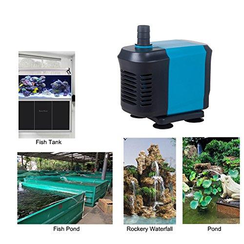 Kedsum 40w 2500l per hour 550gph submersible water pump for Water pump fish tank