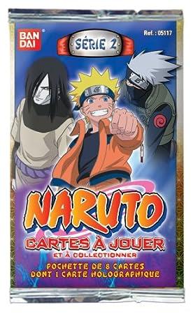 Bandai - Cartas - Naruto - Booster serie 2 Display: Amazon ...