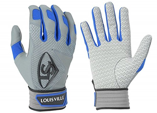 Louisville Slugger Series 7 Batting Gloves, Royal, Small