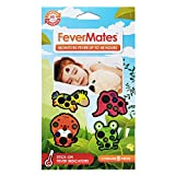 Fevermates Stick-On Fever Thermometer Cartoon Stickers Temperature Indicator Labels(One pack of 8 pieces)