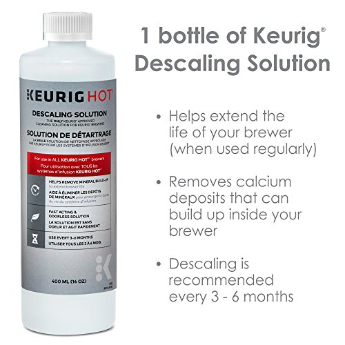 Keurig Maintenance Bundle Includes Replacement Water Filter Cartridges, Descaling Solution and Rinse Pods by Keurig (Image #1)