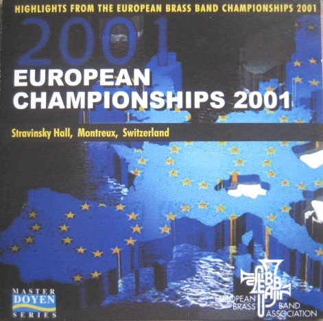 European Dallas Mall Brass Band Now on sale Championships 2001