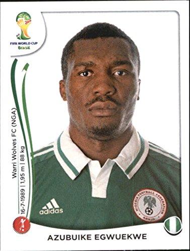 2014 Panini World Cup Stickers #476 Azubuike Egwuekwe - NM-MT
