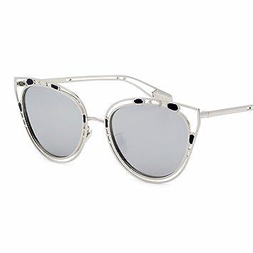 GUO Las Gafas de Sol Cara pequeña Mujer Retro UV Gafas de ...