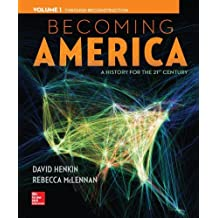 Becoming America Volume 1 with Connect 1-Term Access Card
