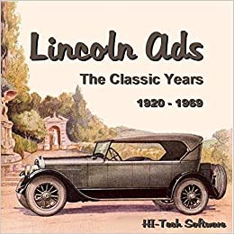 Lincoln ADS 1920-1969  ford CD-ROM