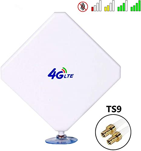 TS9 Connector 7DBi Antenna 4G LTE Signal Booster Antenna for Amplifier Modem New