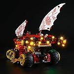 LIGHTAILING-Set-di-Luci-per-Ninjago-Bounty-di-Terra-Modello-da-Costruire-Kit-Luce-LED-Compatibile-con-Lego-70677-Non-Incluso-nel-Modello