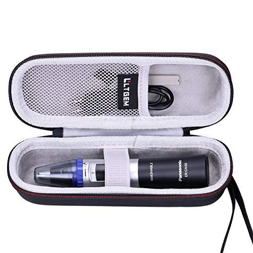 LTGEM EVA Hard Case for Panasonic Nose Hair Trimmer and Ear Hair Trimmer ER-GN30-K, Mens Wet/Dry Trimmer Cleaning System