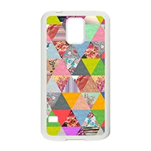 Colorful Stripes Design Unique Design Cover Case for SamSung Galaxy S5 I9600,custom case cover ygtg601648