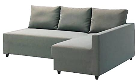 Heavy Duty Cotton Light Gray Friheten Sofa Cover Replacement Is Custom Made  For Ikea Friheten Sofa