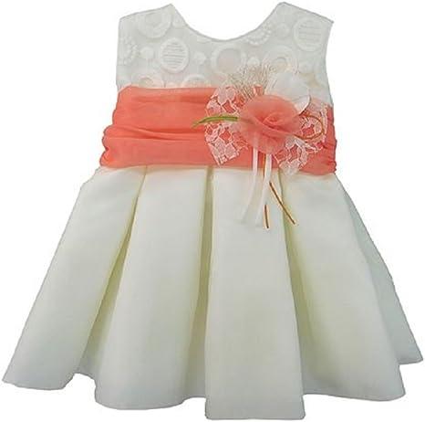 Vestido de Ceremonia, Bautizo, Bodas,Arras de Bebe Niña para 18 Meses, Fabricación Española: Amazon.es: Bebé