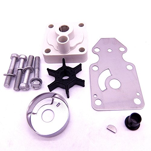 63V-W0078-00 Water Pump Impeller Repair Kit for Yamaha F15 15hp 4-stroke Outboard Motors - Stroke Water Pump Kit