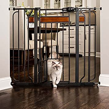 Amazon.com : Carlson Pet Products Home Design Extra Tall Gate with ...
