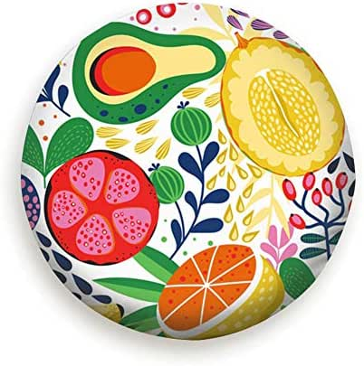 Various Tropical Fruits On Fruit Food and Drink Universal Spare Tire Type Cover Wheel Covers