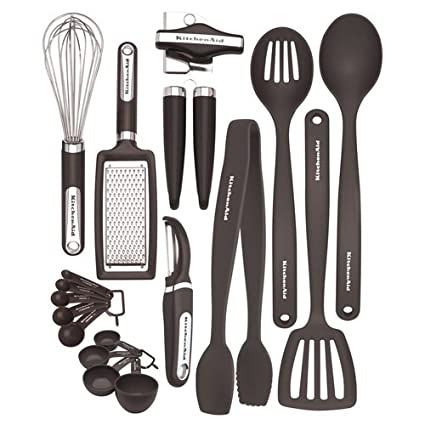 Amazon Com Kitchenaid 17 Pc Tool And Gadget Set Kitchen Dining