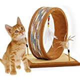 AFP DreamCather Cat Scratcher Furniture With Dangling Feather