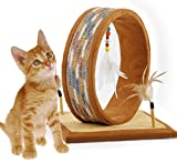 ALL FOR PAWS AFP DreamCather Cat Scratcher Furniture With Dangling Feather